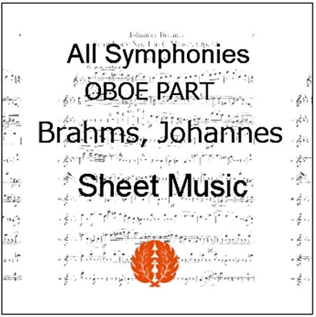 かすかなお金ゴムフルーツ野菜楽譜 pdf ブラームス 交響曲 全曲 全楽章 オーボエ パート譜セット