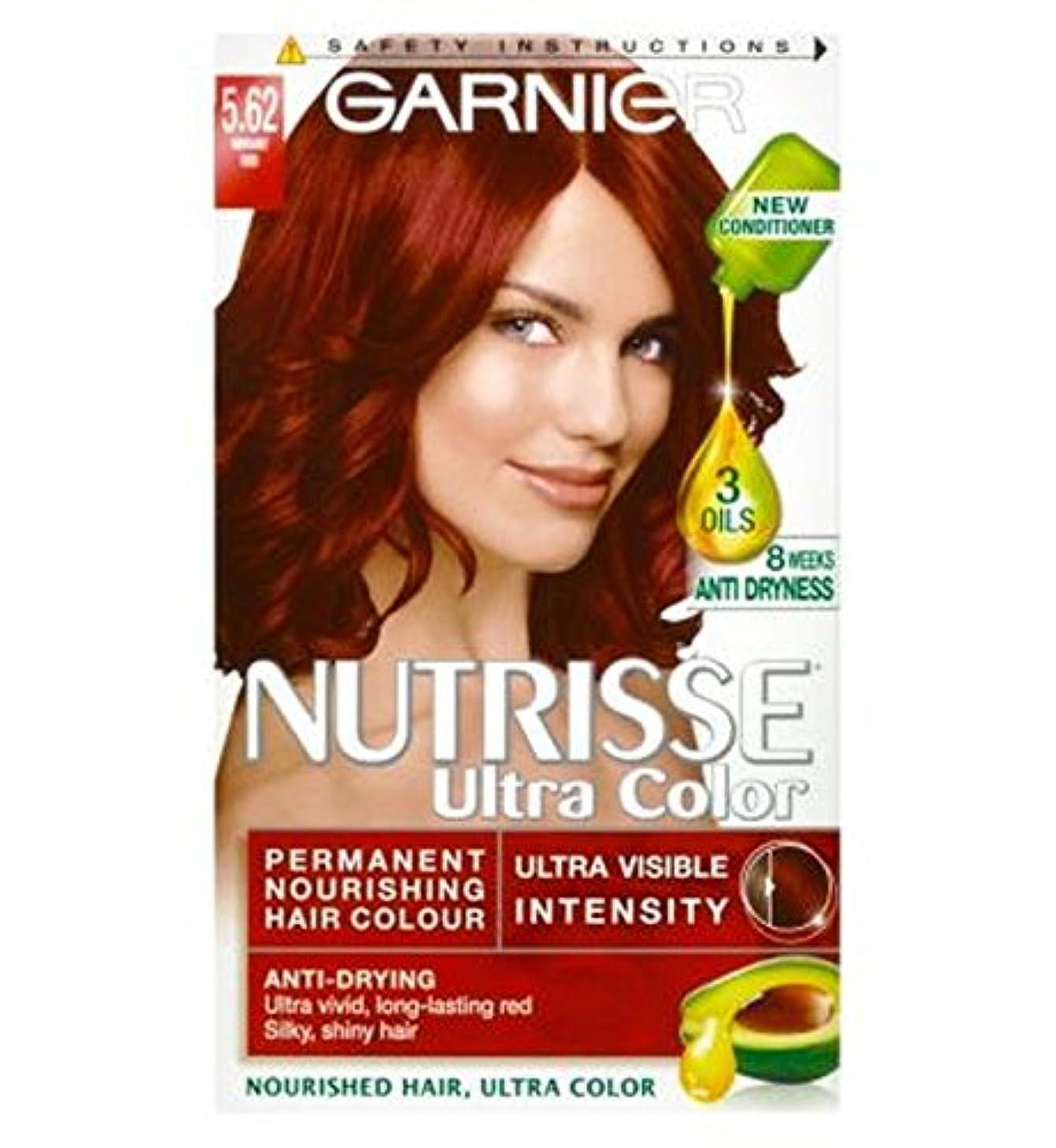 カプラー韓国おじいちゃんガルニエNutrisse超永久色5.62活気のある赤 (Garnier) (x2) - Garnier Nutrisse Ultra Permanent Colour 5.62 Vibrant Red (Pack of...