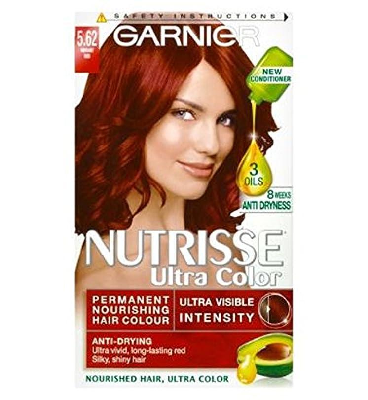 フットボール再現する肯定的ガルニエNutrisse超永久色5.62活気のある赤 (Garnier) (x2) - Garnier Nutrisse Ultra Permanent Colour 5.62 Vibrant Red (Pack of...