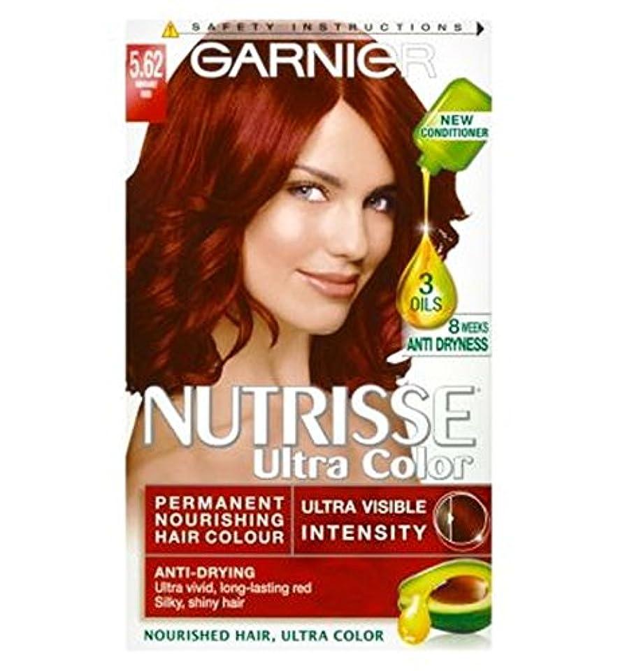 ビリーカウント音声ガルニエNutrisse超永久色5.62活気のある赤 (Garnier) (x2) - Garnier Nutrisse Ultra Permanent Colour 5.62 Vibrant Red (Pack of...