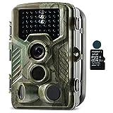 Coolife トレイルカメラ 防犯&監視カメラ HD1080P 動体検知 撮影&録画 IP56防水 家庭 屋外 野生動物調査用