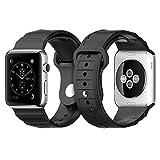 Apple Watch バンド, Spigen® アップル ウォッチ 交換バンド 時計バンド ベルト (42mm) ラギッド・バンド 【国内正規品】 (2015) (42mm, ブラック【SGP11582】)