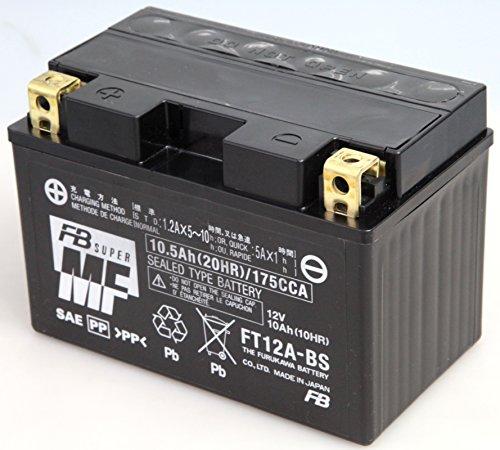 FURUKAWA [ 古河電池 ] シールド型 バイク用バッテリー FT12A-BS
