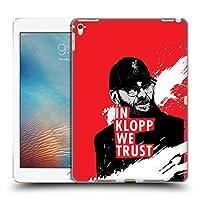 オフィシャル Liverpool Football Club ステア・レッド Jurgen Klopp イラストレーション iPad Pro 9.7 (2016) 専用ハードバックケース