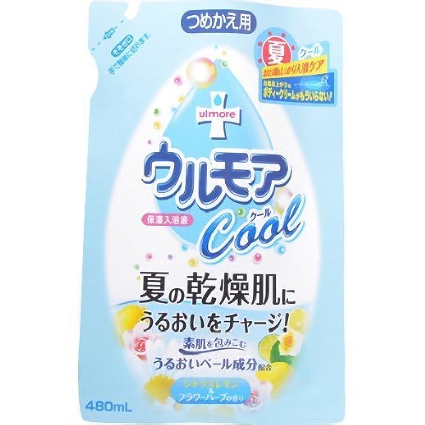密蘇生する糸アース製薬 ウルモアシトラスレモン&ハーブの香り替え 480mL