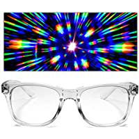 GloFX Ultimate Diffraction Glasses 3D Prism Effect Edm Rainbow