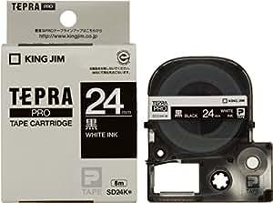 キングジム テープカートリッジ テプラPRO SD24K  カラーラベル