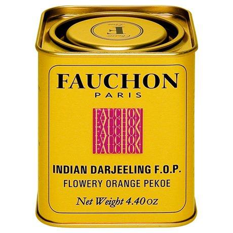 フォション ダージリン 紅茶リーフ缶(角)125g(FAUCH...