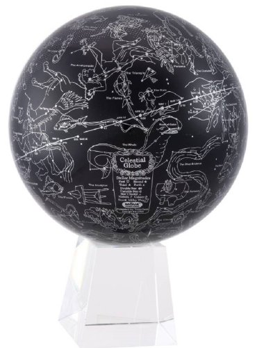 [ムーバ]Mova 8.5 Inch Star Constellations Globe on Large Crystal Base MG-85-STA-LCB [並行輸入品]
