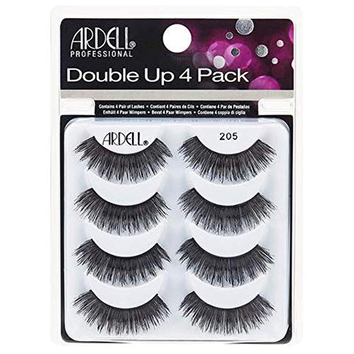 電気的知覚する九時四十五分Ardell Double Up 4 Pack Lashes - 205
