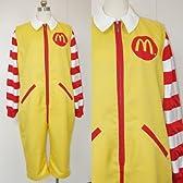 マクドナルド  ドナルド風♪コスプレ衣装 完全オーダメイドも対応可能  コスチューム、コスプレ