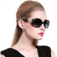 Duco Women's Shades Classic Oversized Polarized Sunglasses 100% UV Protection 1220