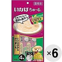 【セット販売】ちゅ~る 犬用 とりささみ&さつまいも (14g×4本)×6コ [ちゅーる]