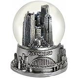 Pittsburgh Pennsylvania Snow Globe 65 mmシルバー