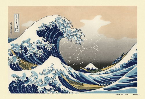 キューティーズ 300ピース ジグソーパズル 神奈川沖浪裏 (富嶽三十六景)(26x38cm)