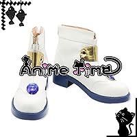 ●●サイズ選択可●●男性28CM MJP1089 コスプレ靴 ブーツ 魔法少女リリカルなのは 高町なのは