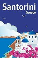 ポスターFoundry Santorini Greeceレトロ旅行アート 12x18 inches 294330