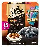 シーバ デュオ 15歳以上 鶏ささみ味と海のセレクション 200g(20gx10袋)