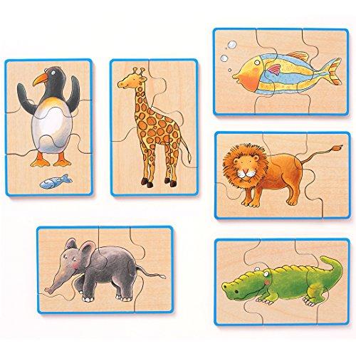 [해외]西松屋 SmartAngel 스마트 엔젤 숲 장난감 동물 퍼즐/Nishimatsuya SmartAngel Smart Angel Forest Toys Animal Puzzle