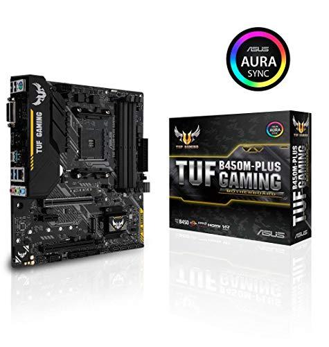 ASUS AMD B450 搭載 AM4 対応 マザーボード TUF B450M-PLUS GAMING  B07FKV3TVF 1枚目