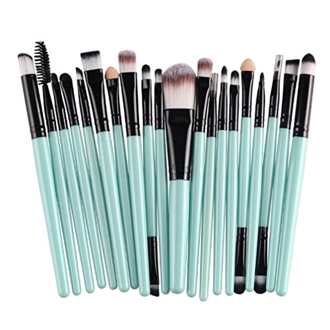 マウンド批判的目の前のBEE&BLUE メイクブラシ セット 人気 化粧ブラシ 化粧筆 ブラシ 上質 毛質 柔らかく 毛量たっぷり コスメ 基本ブラシ メイクアップブラシ 敏感肌適用 メイクツール 20本セット