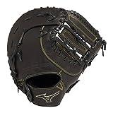 ミズノ(MIZUNO) 軟式用 フィールドグリスターFin 一塁手用 1AJFR14700 09 ブラック 右投用
