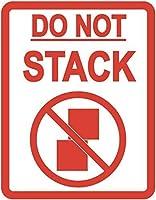 'no Stack'包装ステッカー/粘着ラベル - その他の数量