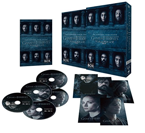 ゲーム・オブ・スローンズ 第六章: 冬の狂風 DVD コンプリート・ボックス (5枚組)