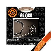 TIRE PENZ (タイヤペンズ)THE GLOW(ザ・グロウ) 塗装を侵さないリフレクターテープ 幅6.35mm×長さ9m ORANGE