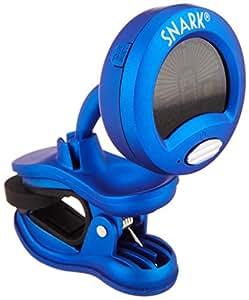 SNARK チューナー ギター・ベース・ウクレレ用クリップ型クロマチックチューナー SN-1 ブルー
