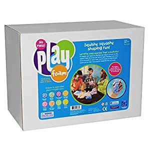 Playfoam Class Pack (16 Super-sized Pieces) ねんど遊び プレイフォーム クラスパック(特大サイズ16個入り) 知育玩具