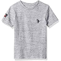 U.S. POLO ASSN. Boys 6271 Short Sleeve Injection T-Shirt Short Sleeve T-Shirt