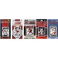 NHL Carolina Hurricanes 5異なるLicensed Tradingカードチームセット、ブラウン、1サイズ