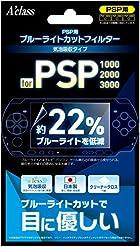 PSP用 ブルーライトカットフィルター(気泡吸収タイプ)