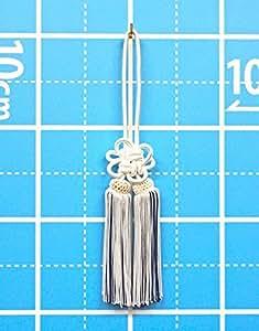 房4寸_白に中紺(国産)(約12~13cm)およそ全長30cm