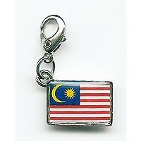 NATIONALFLAG 国旗柄ファスナーホルダー マレーシア 07152-9