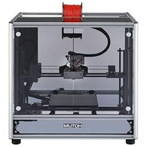 ムトー パーソナル3Dプリンタ(黒/フロント黒)MUTOH 3D MagiX MF-1100