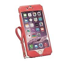 プレーリードッグ Lesign iPhone6/6sケース 天然皮革 (チェリーピンク)