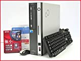 中古パソコンデスクトップWindows7-Pro32bit済 FMV-D5290 現役高速Core2Duo-2.93GHz 大容量メモリ4G HDD1TB DVDマルチ搭載  新品無線LANアダブタ付