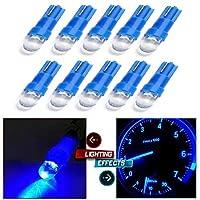 FidgetGear 10個の青T 5計器クラスターパネルゲージダッシュ電球ライト17 57 37 73 74
