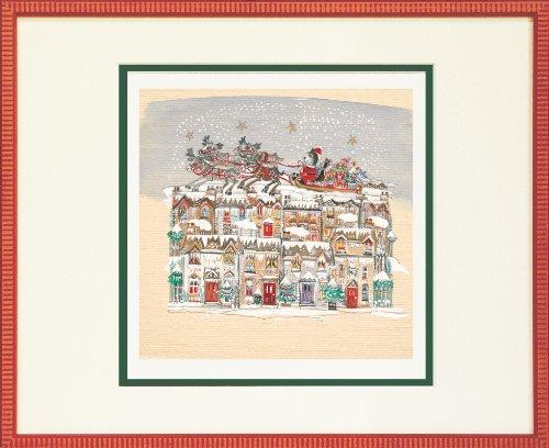 ダイアン エルソン ジグレー版画 サンタのお仕事 80-0009
