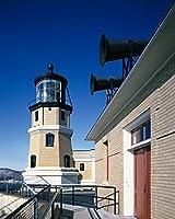 24x 36ジクレー印刷の分割ロック灯台とFoghorn Two Harborsミネソタr14[間1980年と2006]ハイスミス、キャロル・Mによって、
