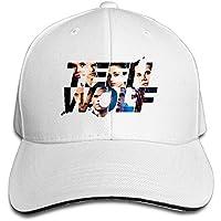 Bang Teen Wolf Sandwich野球キャップ帽子 US サイズ: One Size カラー: ホワイト