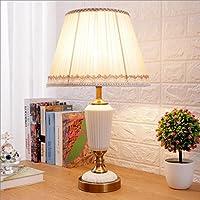 ウェディングテーブルランプベッドルームベッドサイドランプクリエイティブモダニズムレッドウェディングルーム装飾照明 A+ (色 : 白)