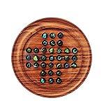 木製ローズウッドCrafted Pegソリティア木製Crafted Kid 's Toys & Games | Nagina International