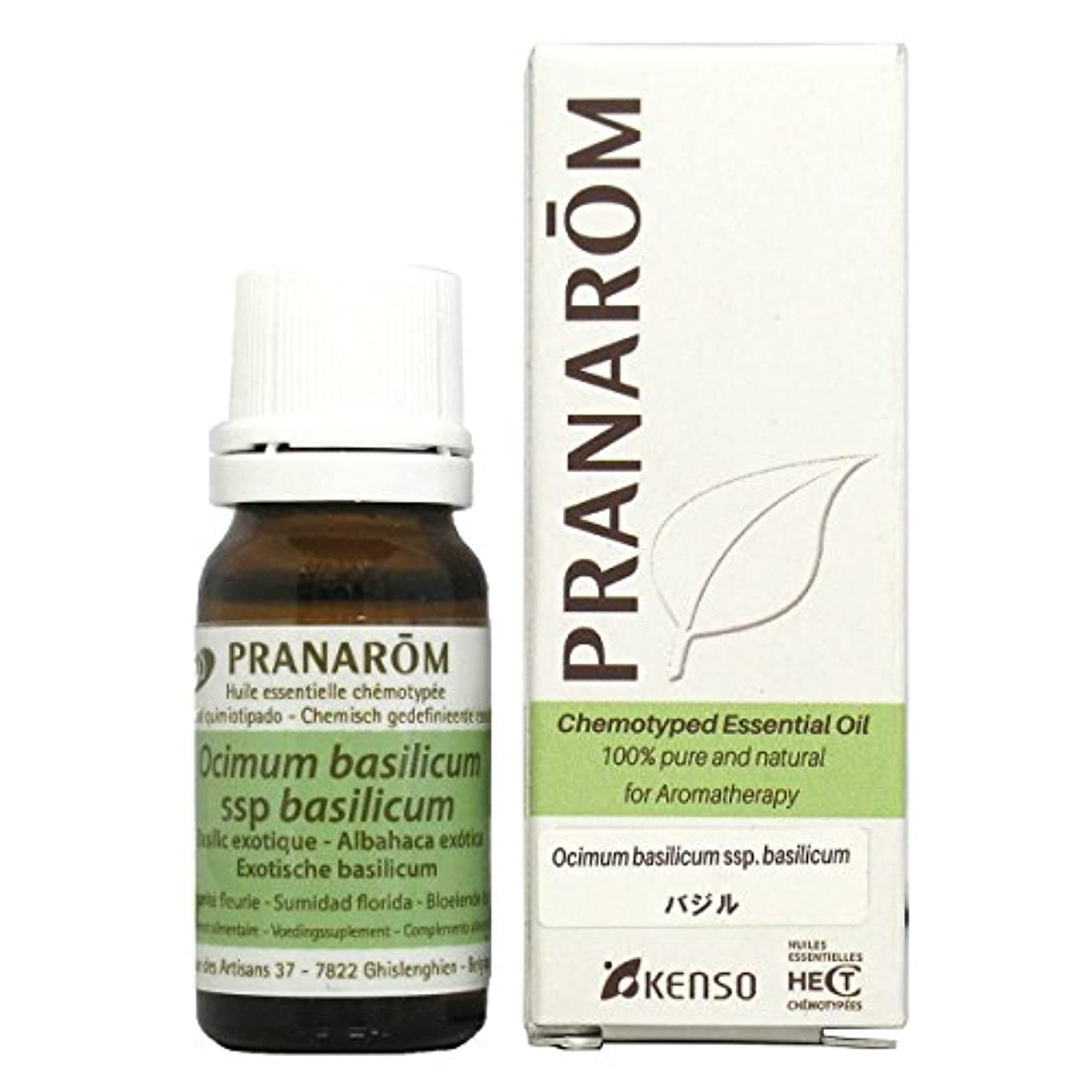 カテナ蓮ラフ睡眠プラナロム バジル 10ml (PRANAROM ケモタイプ精油)