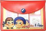 ティーズファクトリー ペコちゃん ポーチ入り付箋 ペコちゃん&ポコちゃん H7.7×W11.5cm PE-5523916PP