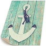 木のレトロ 海洋 アンカー キャンバス 装飾 油絵 塗り絵 ホームデコレーション
