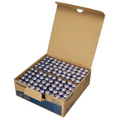 東芝 アルカリ乾電池 単3形1パック100本入  LR6L1...