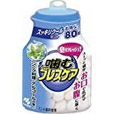 噛むブレスケア ボトルスッキリ クールミント 80粒 x 6個セット